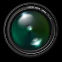 , Aperture, Green icon