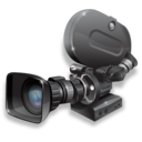 camcorder, 35mm, film, camera icon