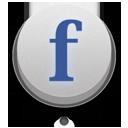 off, facebook icon