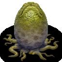 alien, egg icon