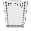 paper, file, video, document, mpg, mpeg icon