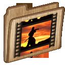 video, film, movie, folder icon