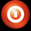 Ball, Shutdown icon