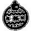 xmas, winter, ball, christmas, creative, ornaments, decoration, hand-drawn icon