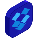 media, social, dropbox, storage, online, network, internet icon