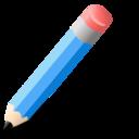 lapiz,azul icon
