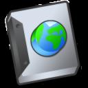 document globe icon