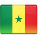 senegal, country, flag icon