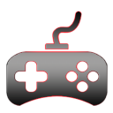 Game control handle icon
