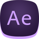 after, adobe, ae, aftereffects icon