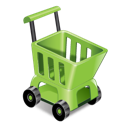 sell, shopping, cart, ecommerce icon