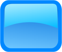 rectangle, blue icon