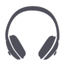 volume, music, audio, multimedia, sound, note, guide, headphones, audioguide, player, media, speaker icon