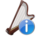 arpa,info,instrument icon