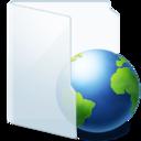 Folder Light Web icon