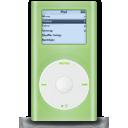 g, Green, Ipod, Mini icon