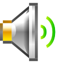 newschool, medium, volume, audio icon