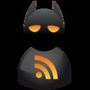 batman,rss,subscribe icon