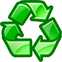 trash, recycle bin, recycle, reuse icon