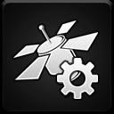 satellite,gps,config icon
