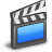 video, movie, film icon