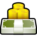 coin, cash, money, currency icon