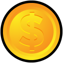 money, coin, cash, currency icon