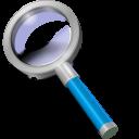 search blue icon