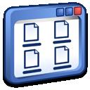 windows, view icon
