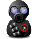 soldier, gas icon