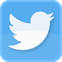 tweet, square, retweet, twitter bird, twit, twitter logo, follow, twitter symbol, twitter, tweets, blue bird icon