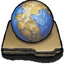 prehistoric,planet icon