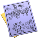 Blueprint, Document icon