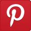 big, p, pinterest, button icon