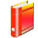 bookred icon