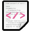page, documento, text, document, texto, xml, pã¡gina icon