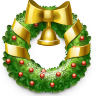 wreath,christmas icon