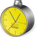 low,cost,clock icon