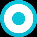 Circle, Currents, Flat, Google icon