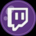 social, media, twitch icon