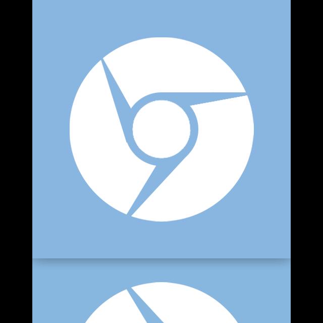 chromium, mirror, google icon