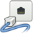 48, network, wired, gnome icon