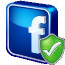 Check, Facebook icon
