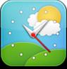 weather,clock icon