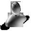 user, black icon