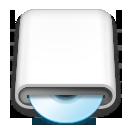 whitedrives, blueray icon