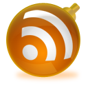christmas, rss, feed, subscribe icon