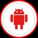 logo, media, social, brand, android icon