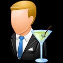 Bartender, Light, Male icon