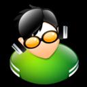 disk jockey, dj icon